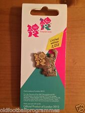 LONDON 2012 OLYMPIC TORCH RELAY (OXFORD) PIN BADGE (09.07.2012)