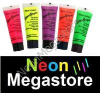 5 X Stargazer UV reaktive Neon Körper / Schminke,Set #2