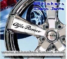 8 STICKER AUTOCOLLANT LOGO JANTE ALFA ROMEO 145 156 166