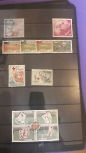 Monaco 1960s Superb Used Sets with a combined catalogue value of £50+