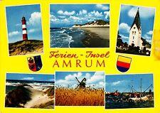 Freien-Insel Amrum , Ansichtskarte , 1974 gelaufen