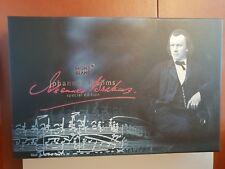 MontBlanc Johannes Brahms 107451 Platinum Special Edition Rollerball Pen
