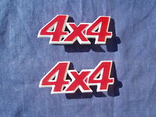FIAT PANDA 4X4 SISLEY COUNTRY CLUB COPPIA SIGLE SCRITTE STEMMI LOGHI BADGE NEW