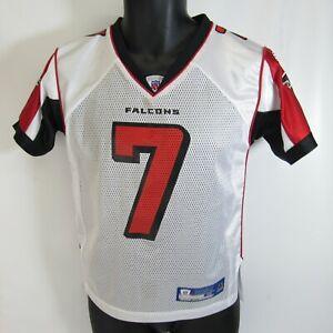Michael Vick Atlanta Falcons #7 NFL Jersey Youth M 10-12 Reebok On Field YM