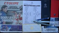 11 items Tickets Line-ups L'Equipe VIP ... UCL 2016/17 Paris SG vs Arsenal FC