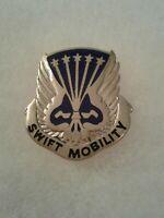 Authentic US Army 18th Aviation Battalion Unit DI DUI Crest Insignia E-23