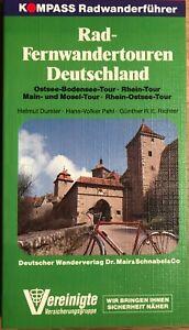 Rad-Fernwandertouren Deutschland, Kompass Radwanderführer,