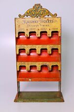 EXTREMELY SCARCE BING ENGLISH RAILWAY TICKET BOOTH