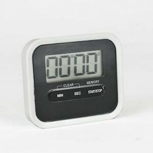 Digital LCD Magnetic Kitchen Cooking Timer/Counts Down and Up/Includes Clip