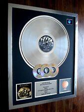 PAUL MCCARTNEY WINGS BAND ON THE RUN LP MULTI PLATINUM DISC RECORD AWARD ALBUM