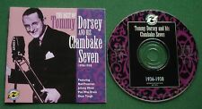 The Best Of Tommy Dorsey & His Clambake Seven 1936-1938 CD