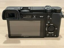 Sony Alpha A6000 Mirrorless Camera Black (Body Only) With Extra Batteries
