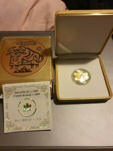 Canadian $150 Gold Coin Year Of The Ox 2009