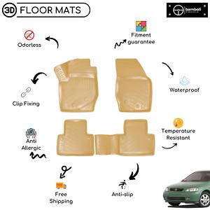 Vehicle Specific Rubber Beige Floor Mat for Opel Astra G