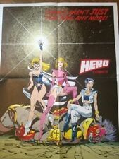 Vintage Hero Comics Promo Poster 1987