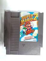 **Super Mario Bros. 2 - Original Nintendo NES Game - Tested + Working +Authentic