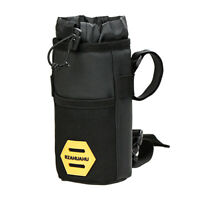 Bicycle Insulated Water Bottle Holder Bag Bike Handlebar Kettle Storage Bag TN2F
