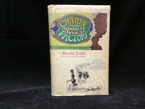 1st Ed. -  Charlie and the Chocolate Factory - Roald Dahl [Alfred A. Knopf 1964]