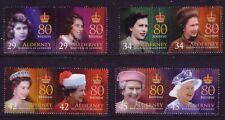 Alderney 2006. 80th Birthday of Queen Elizabeth II  SG 274/81  MNH