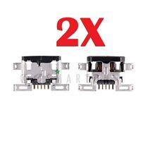 2X Micro USB Charger Charging Port Dock Connector Motorola Droid Turbo XT1254