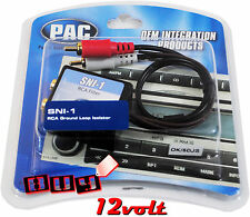 PAC SNI-1 RCA Ground Loop Noise Isolator - RCA Noise Filter