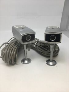 (2) Samsung SEB-1003 (SOC-C120) Color Camera With Audio Comes + Bracket + cable