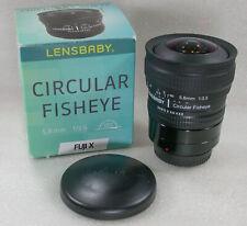 Lensbaby Circular Fisheye 5.8mm F3.5, Fuji X Mount  No. CFE.019847