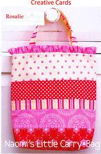 PATTERN - Naomi's Litte Carry Bag - sweet mini PATTERN - Creative Card