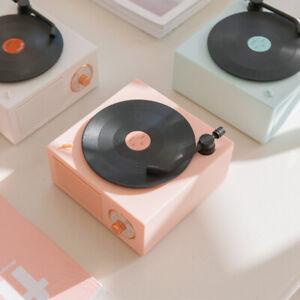 Christams Gift  X10 Retro Cute Vinyl Portable Bluetooth Smart Sound Speaker