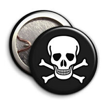 Skull & Crossbones Pirate - Button Badge - 25mm 1 inch