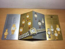 Catalogue Booklet CARTIER Montres Santos 1982 - Watches Relojes - Santos Vendome