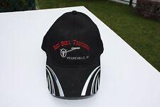 Ball Cap Hat - Red Bull Trucking - Vegreville Alberta - Cattle Brand (H1565)