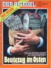 SPIEGEL 41/1990 Der Streit um die Immobilien im Osten