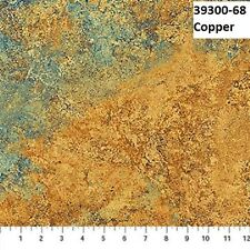 Stonehenge Gradations Copper Colorway 39300-68 Cotton Quilt fabric BTY Blue &