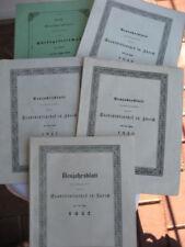 Originale antiquarische Bücher mit Broschüren-Einband als Bildband/illustrierte Ausgabe