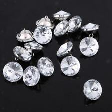 50pcs Crystal Buttons for Sewing Craft Sofa Upholstery Handmade Crafts 20mm