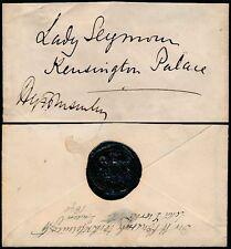 ROYALTY 1890 BUCKINGHAM PALACE PRIVY PURSE SEAL to KENSINGTON PALACE