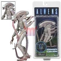 """NECA Alien Xenomorph Albino Drone White Concept 7"""" Action Figure Aliens Series 9"""