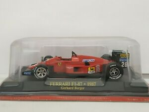 1/43 FERRARI F1-87 1987 G. BERGER F1 FORMULA 1 COCHE ESCALA SCALE CAR DIECAST