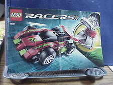 """Lego 7967 RACERS """"FAST""""  Instruction Manual ONLY GOOD CONDITION"""