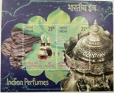 2019 INDIA MINIATURE SHEET - INDIAN PERFUMES AGARWOOD SCENTED STAMPS MNH
