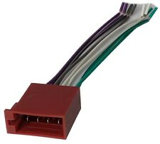 Connecteur fiche ISO 8PIN pour autoradio précâblée faisceau universel enceintes