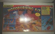Vintage 1993 Nsi Jumbo Woodburning Kit - New - Sealed Box