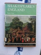 Shakespeare's England Levi Fox, Former Library Book In Good Condition, Putnam