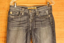 WOMENS BIGSTAR REMY GREAT PREOWNED CONDITION SIZE 26L BLUE JEANS  #268