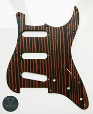 Zebrawood Strat Stratocaster Electric Guitar Pickguard Scratch plate (rare wood)