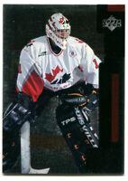 1997-98 UD Black Diamond Roberto Luongo Rookie Card #131 Team Canada