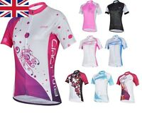 UK Stock Summer Sale New Bicycle Cycling Team Lady Sports Outfit Jerseys  S-XXL