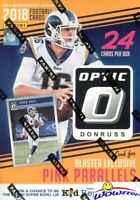 2018 Donruss Optic Football EXCLUSIVE Factory Sealed Blaster Box-ON FIRE!!