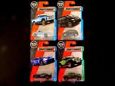 Matchbox Die-cast '62 Nissan Junior Dodge Viper Jeep Gladiator BMW i3, 4 Cars
